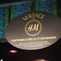 Versace for H&M Press Event
