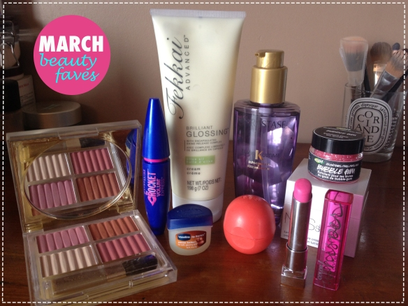 March Beauty Faves