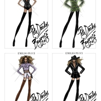 EMILIO PUCCI FOR BEYONCE - Sketches Revealed