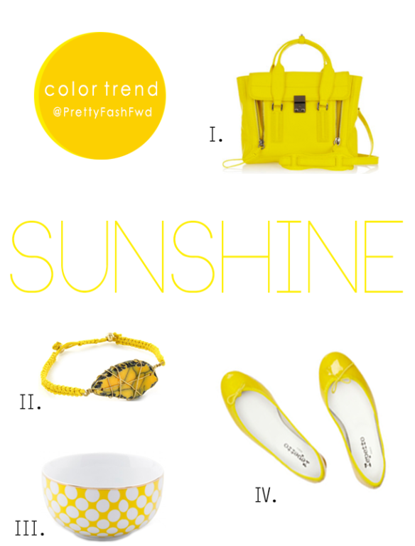 COLOR TREND-Sunshine