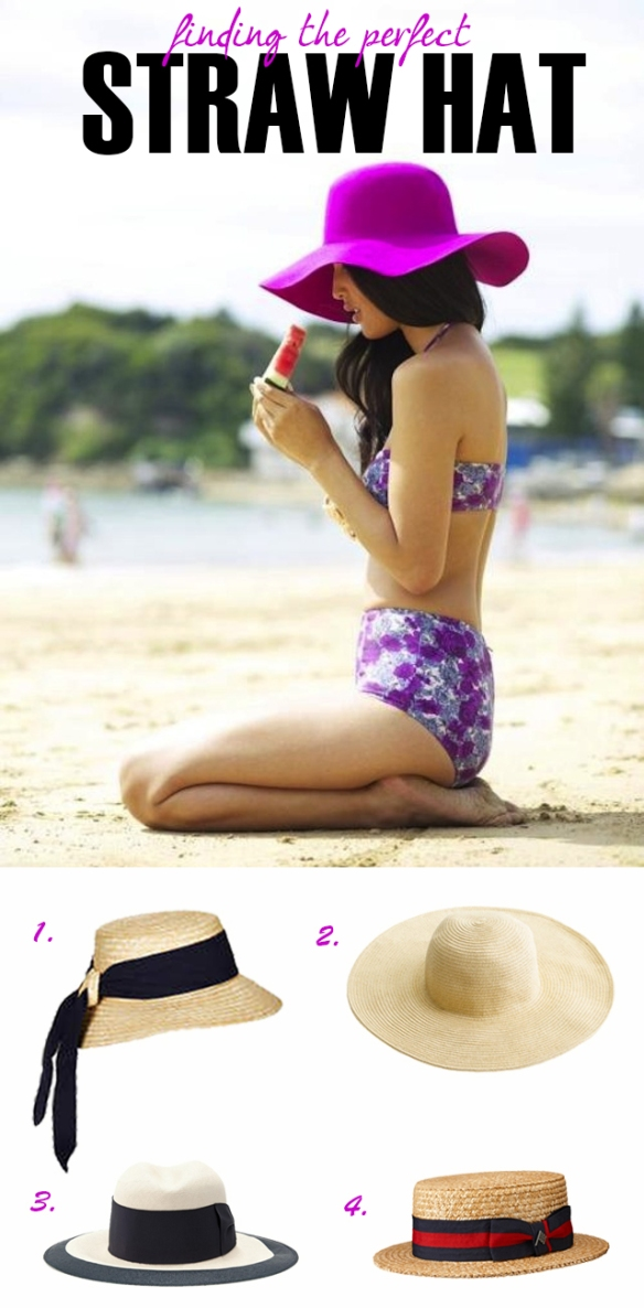 The Perfect Straw Hat
