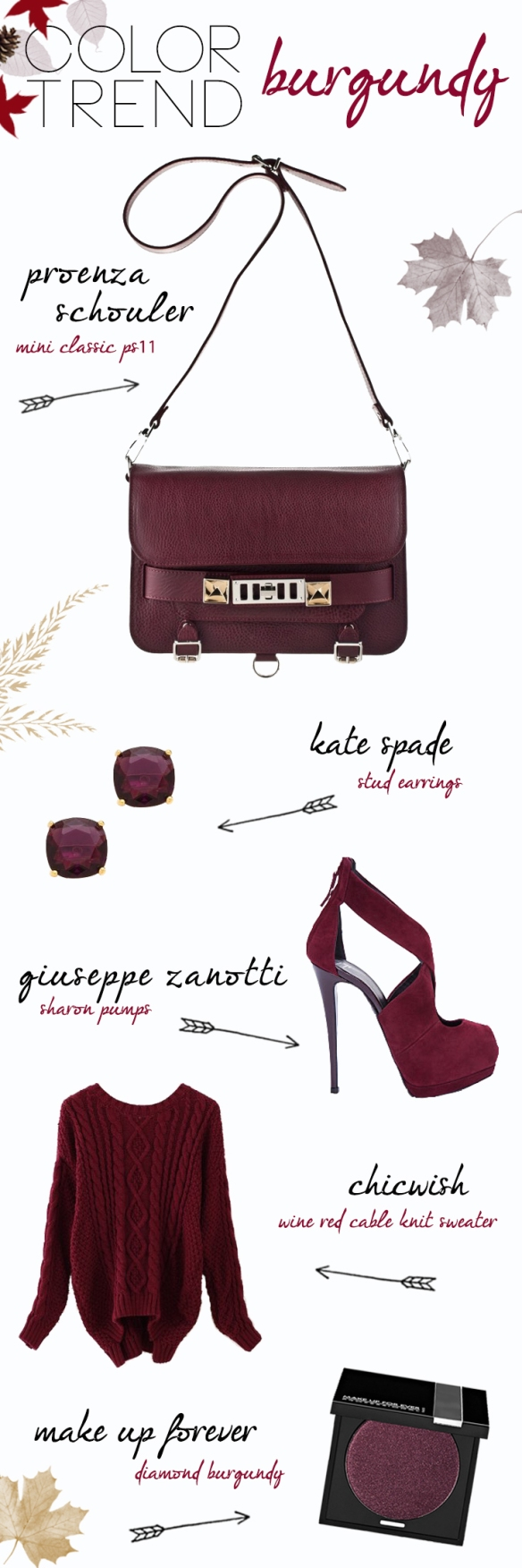 Color Trend - Burgundy