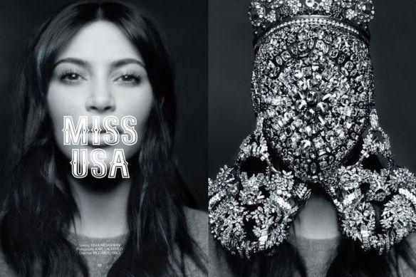 Kim Kardashian by Lagerfeld